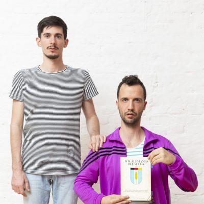 Die Schauspieler Federico (links) und Wenzel Vöcks de Schwindt (Foto: Jana Kiesser)